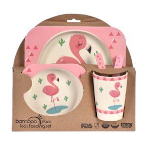Barnset Flamingo 5 delar Multi