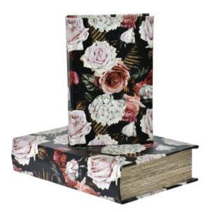Bokförvaring Blomma 2 set Multi
