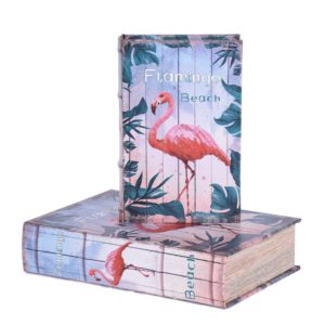 Bokförvaring Flamingo 2 set Multi