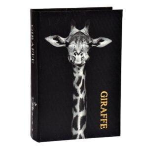 Bokförvaring Giraffe Svart/Vit