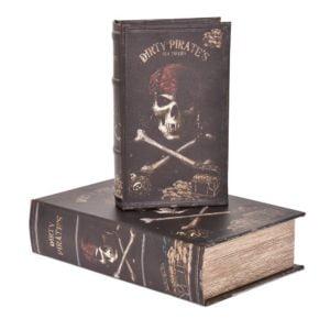Bokförvaring Pirater 2 set Multi