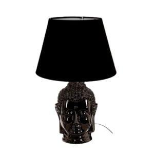 Bordslampa Buddha Svart