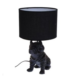 Bordslampa Bulldog Svart