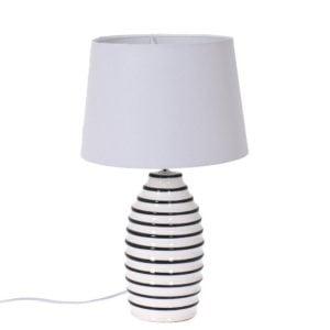 Bordslampa Casper Svart/Vit