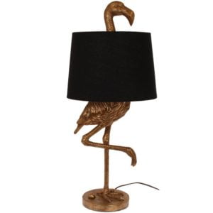 Bordslampa Flamingo Mässing/Svart