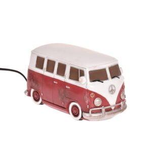 Bordslampa Folkvagnsbuss led Röd/Vit