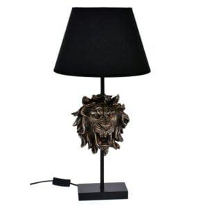 Bordslampa Lejon Mässing