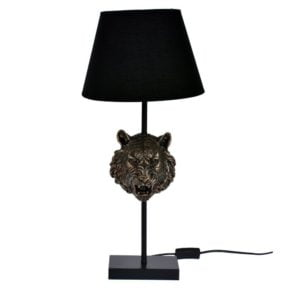Bordslampa Tiger Mässing