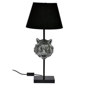 Bordslampa Tiger Silver