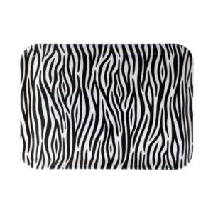 Bricka Zebra Svart/Vit