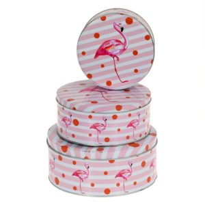 Burk Flamingo 3 set Rosa