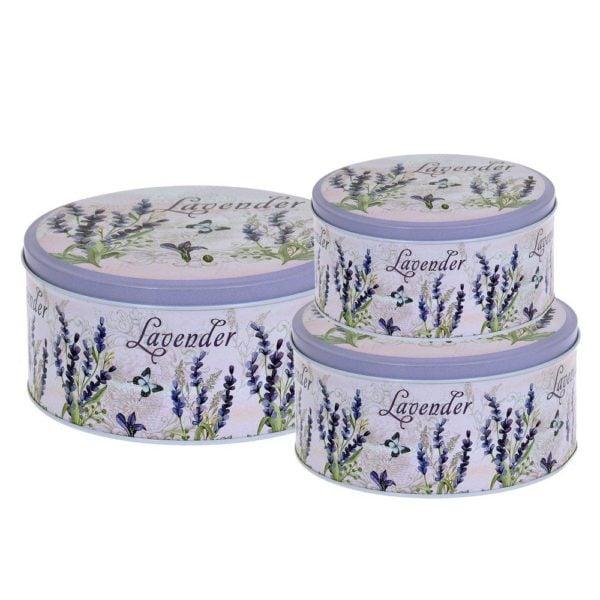 Burk Lavendel 3 set Multi