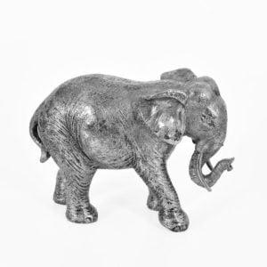 Dekoration Elefant Silver