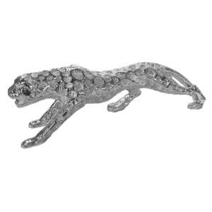 Dekoration Gepard Silver