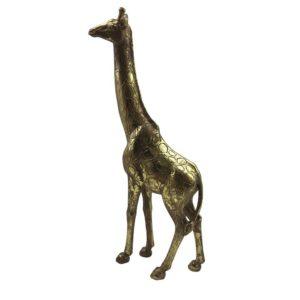Dekoration Giraff Guld