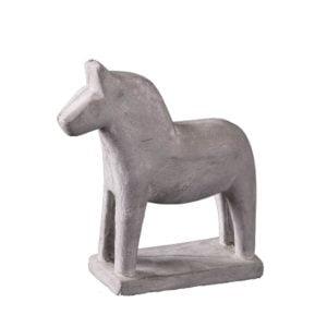 Dekoration Häst Grå