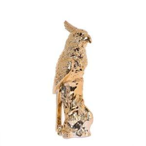 Dekoration Papegoja Mässing