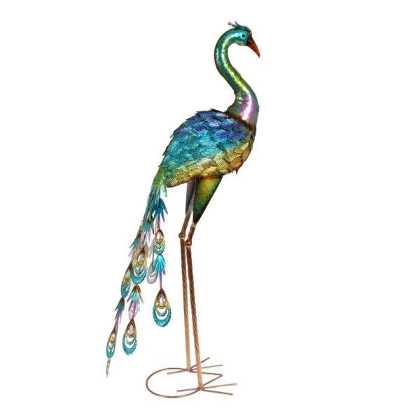 Dekoration Påfågel Blå