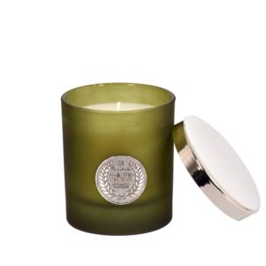 Doftljus Bergamot/Green tea Grön
