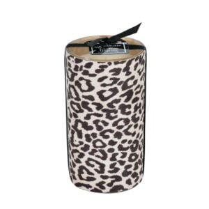 Doftljus Gepard lavendel Brun/Vit