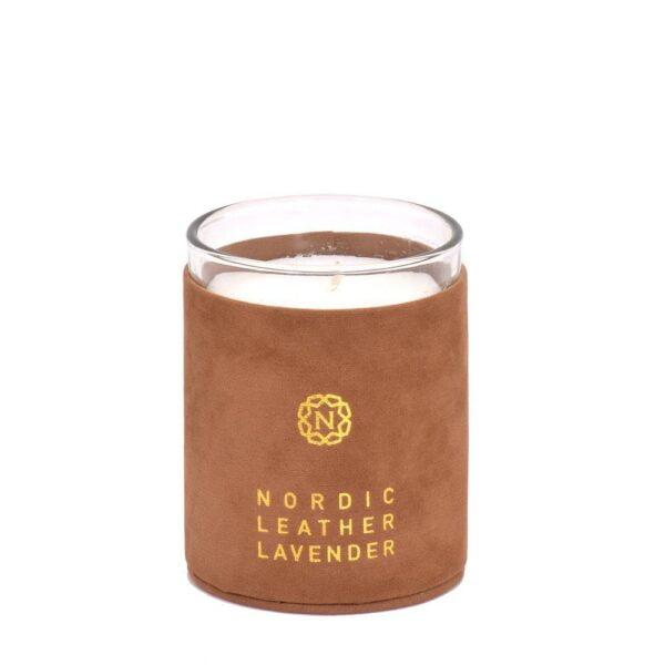 Doftljus Nordic leather Brun