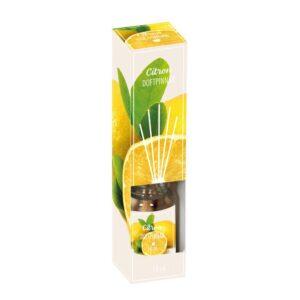 Doftpinnar Citron Gul/Vit