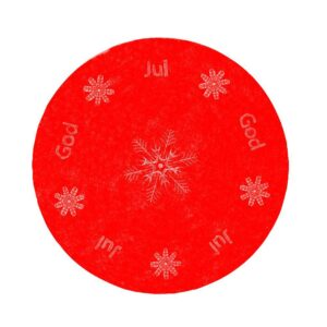 Duk God jul Röd