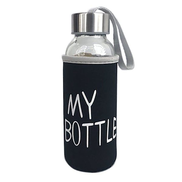 Flaska My bottle 400Ml Klar/Svart