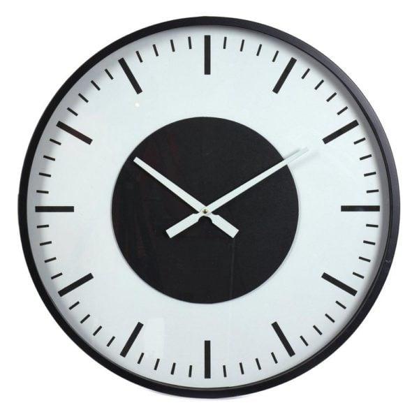 Klocka Mariefred Vit/Svart