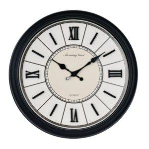 Klocka  Svart