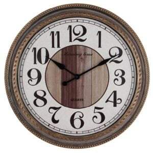 Klocka Venedig Antikljusbrun