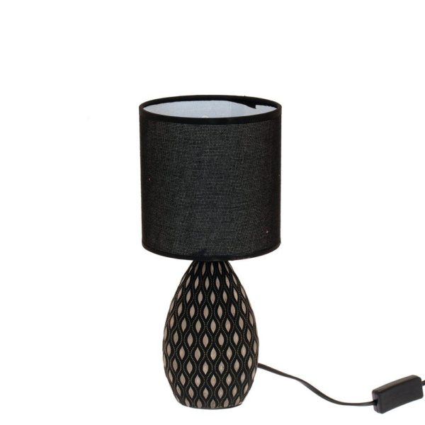 Lampa Adrian Grå/Svart
