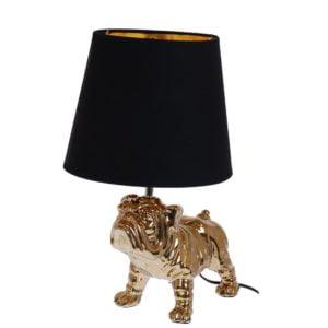 Lampa Bulldog Guld