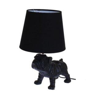 Lampa Bulldog Svart