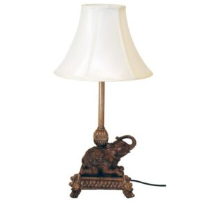 Lampa Elefant Antiksvart
