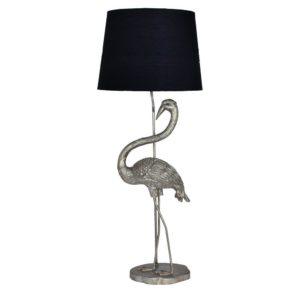 Lampa Flamingo Silver