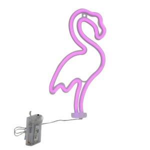Ledlampa Flamingo vägg Rosa