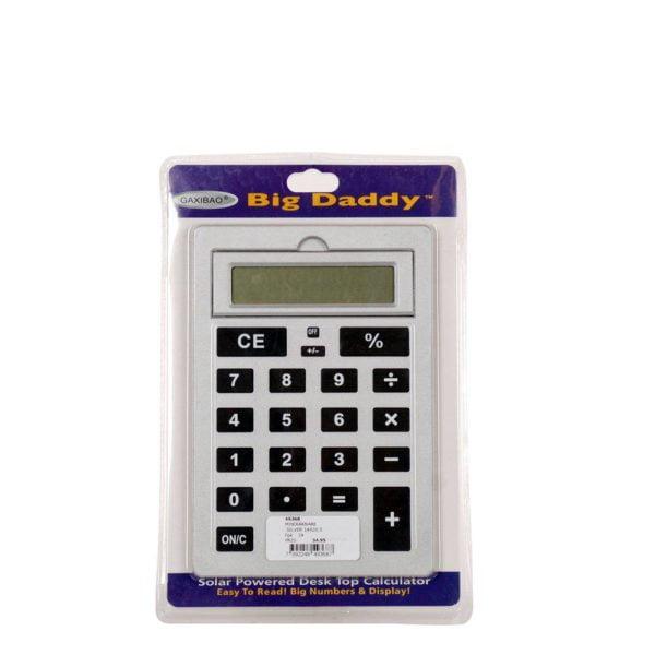 Miniräknare  Silver