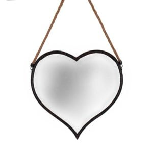 Spegel Hjärta Antiksvart