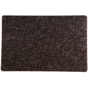 Tallriksunderlägg Granit Svart