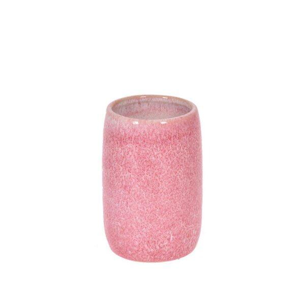 Tandborstglas Aurora Rosa