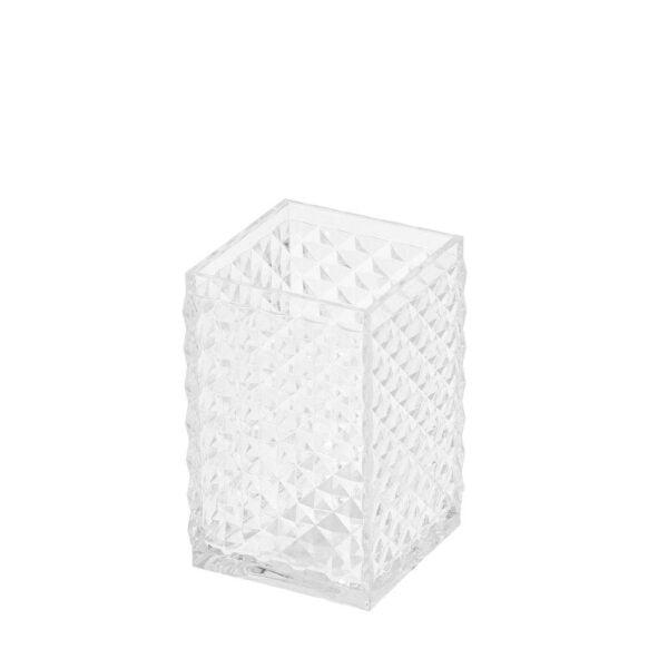 Tandborstglas Diamant Klar