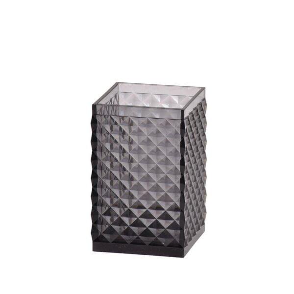 Tandborstglas Diamant Smoke