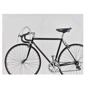 Tavla Cykel Svart/Vit