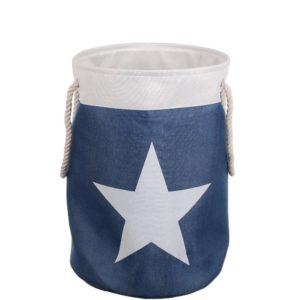 Tvättkorg Star Blå