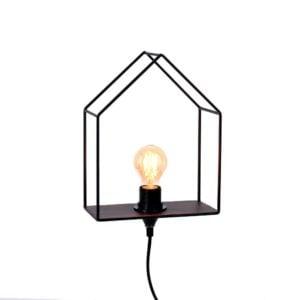 Vägglampa Tilda Svart